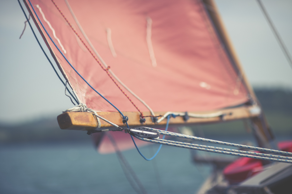 Mylor Yacht Harbour Sail Photograph